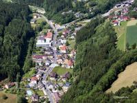 Waldbach Luftbild